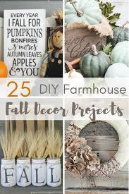 Fall Decorating Projects - 25 diy farmhouse fall decor projects a hundred affections
