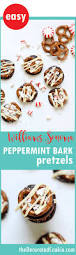Williams Sonoma by Homemade Williams Sonoma Peppermint Bark Pretzels The Decorated