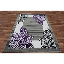 Purple And Black Area Rugs Purple Area Rugs Purple Area Rug With White And Black