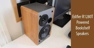 Bookshelf Powered Speakers Best Edifier R1280t Powered Bookshelf Speakers Review