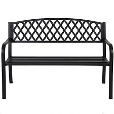 Iron Patio Table And Chairs Garden Bench White Metal Garden Bench Metal Patio Bench Iron