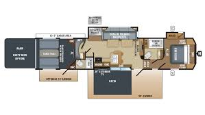 2018 jayco seismic 4213 model floor plan