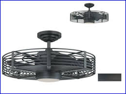 Caged Ceiling Fan With Light Cage Enclosed Ceiling Fans 1899
