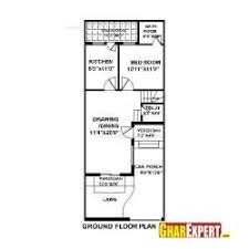 house map design 20 x 50 house plan for 20 feet by 50 feet plot plot size 111 square yards