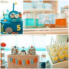 Theme Party Decorations - kara u0027s party ideas octonauts party