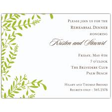rehearsal invitations moss vines rehearsal dinner invitations paperstyle