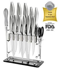 list of kitchen knives sharp 14 pc stainless steel kitchen cutlery knife wish