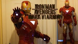 ironman halloween costume iron man mark 6 costume homemade foam avengers armor pepakura