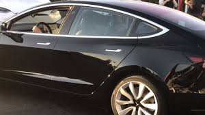 first production tesla model 3 up close u0026 personal video