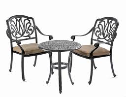 Aluminium Bistro Table And Chairs Cast Iron Bistro Set Innards Interior