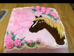 horse cake decoration ideas youtube