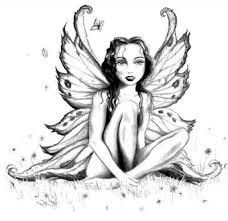 amazing lovely fairy coloring pages adults