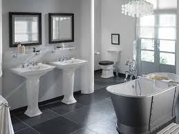 gray bathroom tile ideas gray and white bathroom monstermathclub com