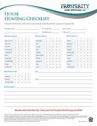 house checklist house hunting checklist prosperity home mortgage llc