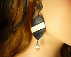 earring dangles black earrings etsy