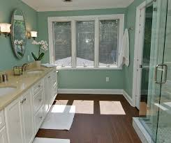 27 ideas and pictures of wood or tile baseboard in bathroom 4x4