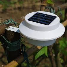 buy allnice white solar gutter led lights sun power led solar