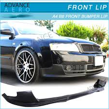 audi b6 kit for 02 03 04 05 audi a4 b6 front bumper lip poly urethane kit