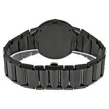 black bracelet mens watches images Movado sapphire pvd black bracelet men 39 s watch 0606307 safiro jpg