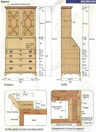 Desk Plans Woodworking Beautiful Secretary Desk Plans 27 Secretary Desk Building Plans