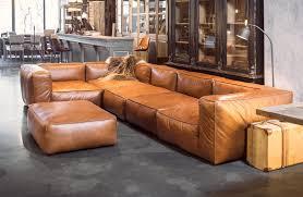 Esszimmerst Le Leder Cognac Sofa Cognac Bestseller Shop Für Möbel Und Einrichtungen