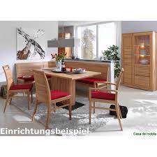 Esszimmer Bank Massivholz Sitzbank Mit Rückenlehne Bank 210 Cm Kernbuche Massiv Natur Geölt