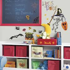 nursery modern wall stickers babiesfromheaven com features the roommates happy halloween peel stick wall decals