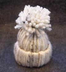 yarn hat ornament craft easy craft