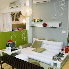 Computer Desk In Living Room Ideas Apartments Small Bedroom Decor Ideas With White Mattress Feat