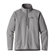 patagonia mens better sweater patagonia s performance better sweater 1 4 zip fleece