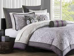 Purple Comforter Set Bedding Twin by Echo Design Marrakesh Full Comforter Set Purple Grey Within