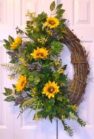 320 best sunflowers images on pinterest summer wreath sunflower