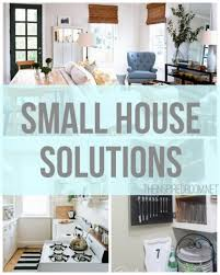 Home Decor For Small Spaces Small House Solutions Smallest House House And Spaces