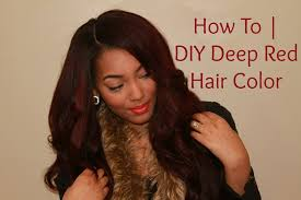 Cherry Bomb Hair Color Are You Red Y Tutorial How I Achieved My Deep Red Hair Color