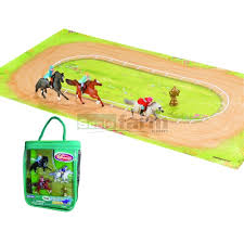 minnie whinnies breyer 300133 mini whinnies day at the races play set