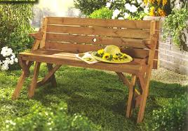 Wood Garden Bench Plans by Amazon Com Merry Garden Interchangeable Picnic Table And Garden