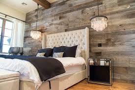 reclaimed barn wood wall rustic bedroom design with awesome barn wood wall covers ideas