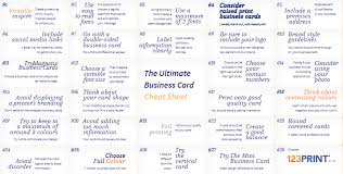 Tips For Designing A Business Card 27 Quick Tips For Creating The Ultimate Business Card 123print