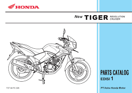 part catalog honda new tiger by ahass tunasjaya issuu