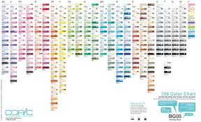 Weirdest Color Names by Understanding The Copic Marker Color System