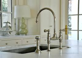 bridge faucets kitchen polished nickel kitchen faucet rnsc co