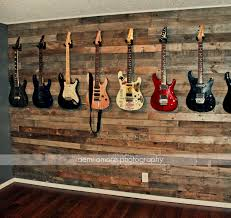 Game Room Wall Decor by Pallet Wall Idea Custom Man Cave Jam Room Music Room Bar