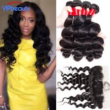 vip hair extensions quality indian wave 3 bundles with frontal vip beauty indian