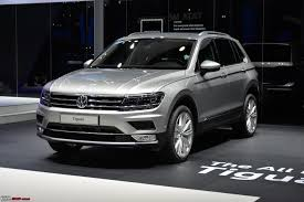 volkswagen suv white volkswagen imports the tiguan edit launched at rs 27 31 lakhs