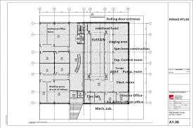 Lab Floor Plan Um Rosenstiel Facility