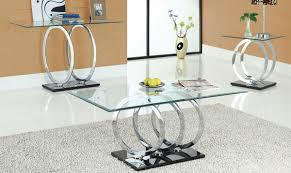 modern glass coffee table sets