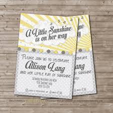 sunshine invitation unique ideas for you are my sunshine baby shower invitations free