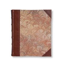 leather album brown marble leather portrait album sb libris