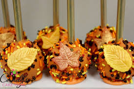 thanksgiving fall favor cake pops pumpkin spice or chocolate