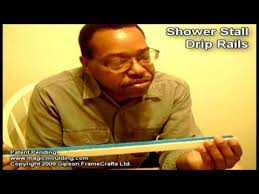 Shower Door Bottom Sweep With Drip Rail Diy Drip Rail For Any Swing Shower Door Screen